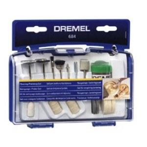 Valymo-poliravimo rinkinys Dremel 684