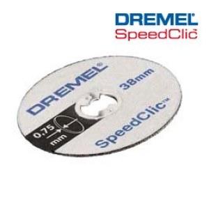 SpeedClic plonų pjovimo diskų pakuotė Dremel SC409, 5 vnt.