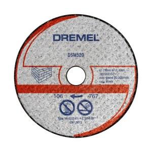 Mūro pjovimo diskas Dremel 2615S520JB; 77 mm