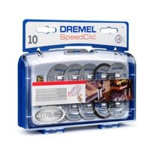 """""""SpeedClic"""" priedų rinkinys Dremel SC690, 6 metalo, 2 plastiko, 2 ploni diskeliai"""