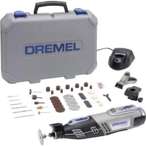 Akumuliatorinis daugiafunkcinis įrankis Dremel 8220 2/45 + 45 priedai