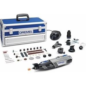 Akumuliatorinis daugiafunkcinis įrankis Dremel 8220 5/65 Platinum + 65 priedai