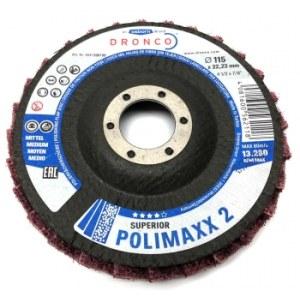 Poliravimo diskas Dronco POLIMAXX 2; 125 mm