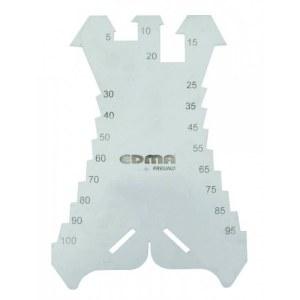 Žymėjimo plokštelė/rėžtukas EDMA 036155; 5-100 mm