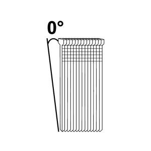 Vinys Essve F18; 1,2×16 mm; 0°; 10000 vnt.; blizgaus cinkavimo
