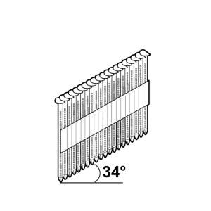 Vinys Essve; 2,8x50 mm; 34°; 2200 vnt.