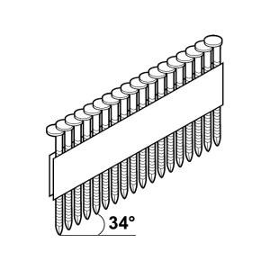 Vinys Essve; 3,1x90 mm; 34°; 1200 vnt.