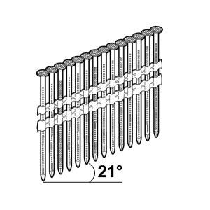 Vinys Essve; 3,1x90 mm; 21°; 1200 vnt.