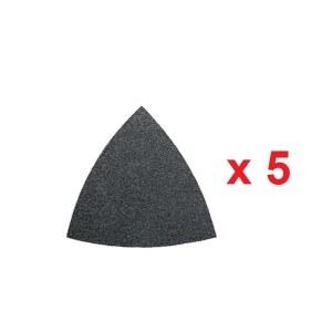 Šlif. popierius delta šlifuokliui Fein; P80; 5 vnt.