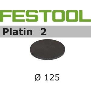 Šlif. popierius eksc. šlifuokliui; Platin 2; Ø125 mm; S4000; 15vnt.