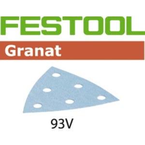 Šlif. popierius delta šlifuokliui; Granat; 93 V; P80; 50vnt.