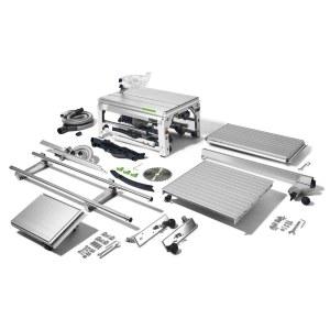 Išilginio pjovimo staklės Festool CS 70 EBG-Set PRECISIO