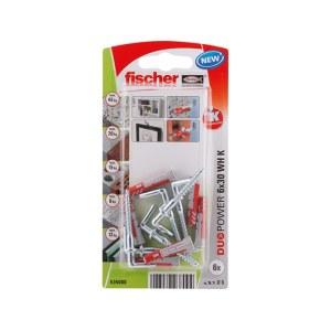 Kaištis Fischer WH K NV; 6x30 mm
