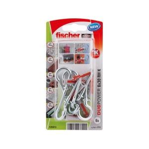 Kaištis Fischer RH K NV; 6x30 mm