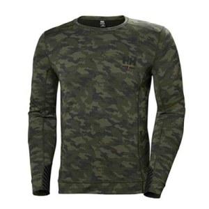 Apatiniai marškinėliai Helly Hansen Lifa Merino; M; kamufliažiniai