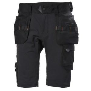 Darbiniai šortai Helly Hansen Chelsea Evolution Cons; C56; juodos spalvos