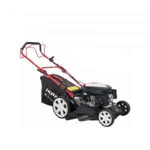 Lawn Mower Ikra Mogatec BRM 2356 SSM TL 4in1; self-propelled petrol + oil (used)