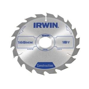 Pjovimo diskas medienai Irwin; Ø165 mm
