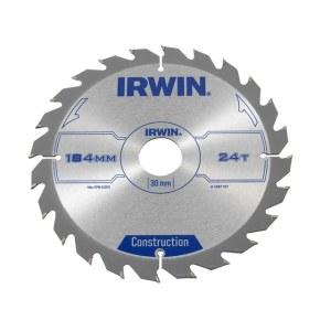 Pjovimo diskas medienai Irwin; Ø184 mm