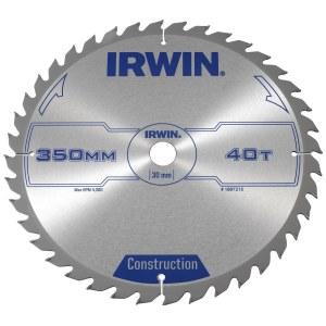 Pjovimo diskas medienai Irwin ATB; 350x3,5x30,0 mm; Z40