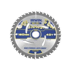 Pjovimo diskas medienai Irwin Ø160 mm