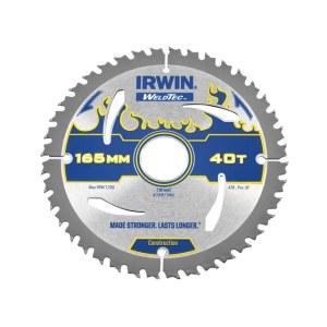 Pjovimo diskas medienai Irwin Ø165 mm