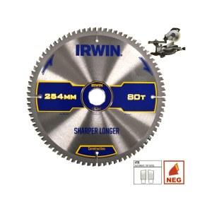 Pjovimo diskas medienai Irwin; 250x2,8x30,0 mm; Z60