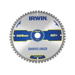 Pjovimo diskas medienai Irwin; 305x3,2x30,0 mm; Z60