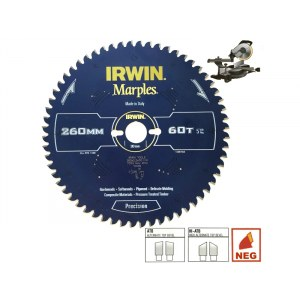 Pjovimo diskas medienai Irwin Marples; 300x3,2x30,0 mm; Z60