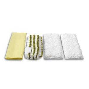 Mikropluošto šluosčių rinkinys vonios valymui Karcher