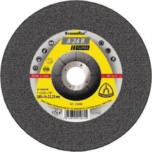 Šlifavimo diskas Klingspor A 24 R; 125x4x22,23 mm; 10 vnt.