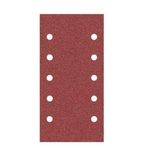 Šlif. popierius vibro šlifuokliui Klingspor; PS 22 K; 115x230 mm; K40; 10 vnt.