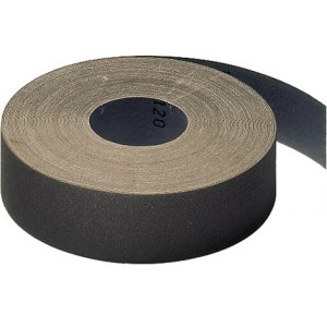 Šlifavimo popieriaus rulonas Klingspor; KL 385 JF; 115x5000 mm; K80; 1 vnt.