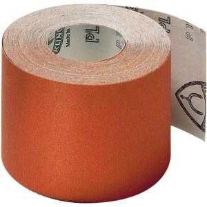 Šlifavimo popieriaus rulonas Klingspor; PL 31 B; 110x50000 mm; K120; 1 vnt.