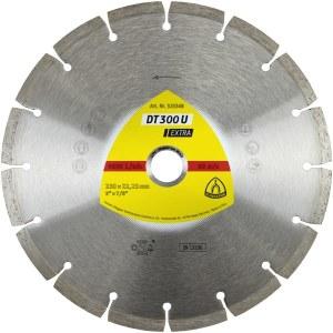 Deimantinis pjovimo diskas sausam pjovimui Klingspor DT 300 U Extra; 300x2,8x30,0 mm
