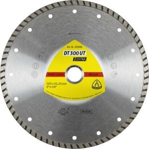 Deimantinis pjovimo diskas šlapiam pjovimui Klingspor DT 300 UT Extra; 230x2,5x22,23 mm