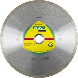 Deimantinis pjovimo diskas šlapiam pjovimui Klingspor DT 600 F Supra; 200x1,9x30,0 mm