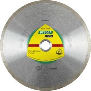 Deimantinis pjovimo diskas šlapiam pjovimui Klingspor DT 300 F Extra; 200x1,9x30,0 mm
