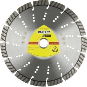Deimantinis pjovimo diskas sausam pjovimui Klingspor DT 612 UT Supra; 230x2,6x22,23 mm