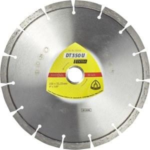 Deimantinis pjovimo diskas sausam pjovimui Klingspor DT 350 U Extra; 300x2,8x20,0 mm