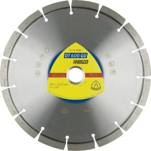 Deimantinis pjovimo diskas sausam pjovimui Klingspor DT 600 GU Supra; 230x2,6x22,23 mm