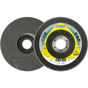 Veltinio diskas valymui Klingspor NUD 500; ME; 125x13x22,23 mm; 5 vnt.