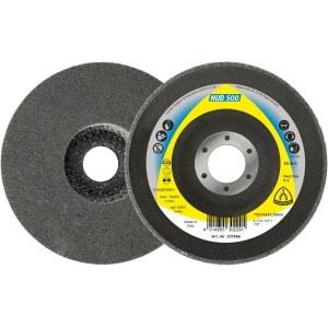 Veltinio diskas valymui Klingspor NUD 500; VF; 125x13x22,23 mm; 5 vnt.