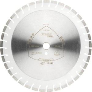 Deimantinis pjovimo diskas sausam pjovimui Klingspor DT 600 U Supra; 400x3,6x25,4 mm
