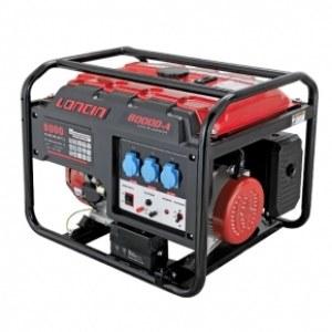 Generatorius Loncin LC8000AS; 6,5 kw; benzininis + alyva