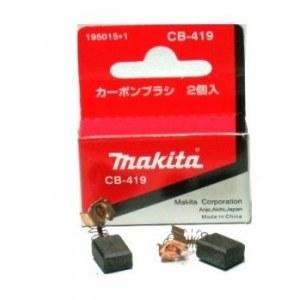 Angliniai šepetėliai Makita CB-419