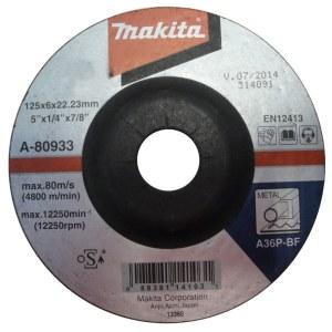 Šlifavimo diskas Makita A36P; Ø125x6 mm