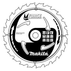 Pjovimo diskas medienai Makita MFORCE; 170x1,2x30,0 mm; Z16; 15°