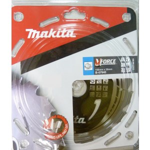 Pjovimo diskas medienai Makita MFORCE; Ø185 mm