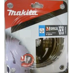 Pjovimo diskas medienai Makita MFORCE; Ø165 mm